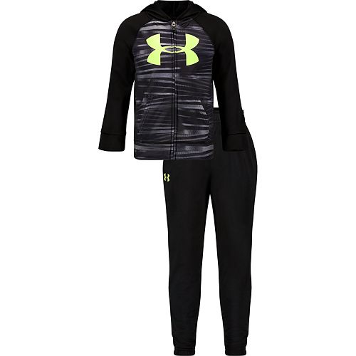 Toddler Boys Under Armour Edge Stripe Track Set