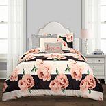 Lush Decor Amara Floral Comforter 7-Piece Set