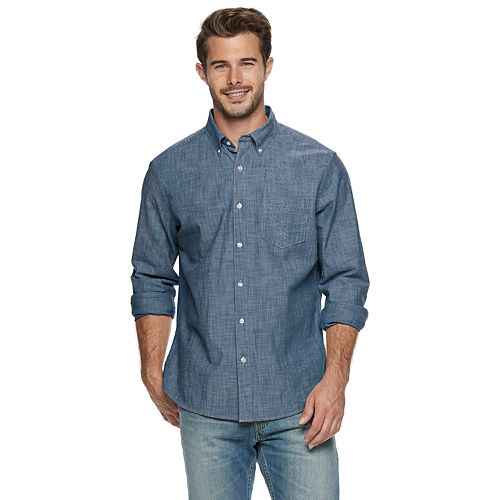 Men's SONOMA Goods for Life Chambray Top