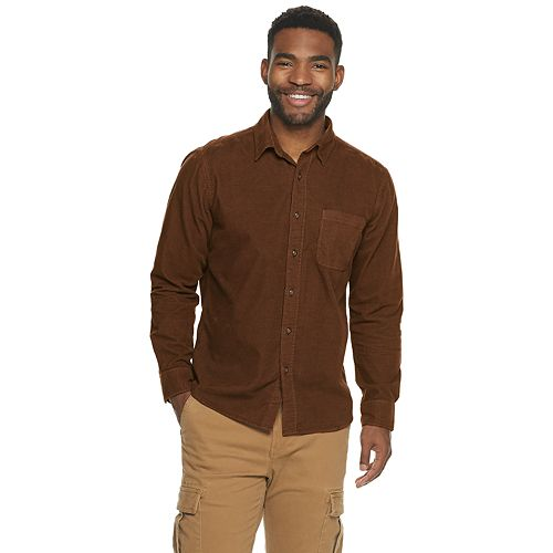Men's SONOMA Goods for Life™ Washed Corduroy Shirt