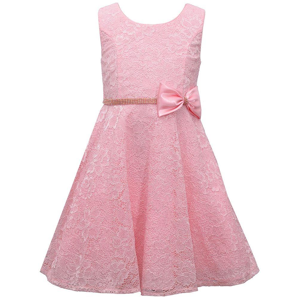 Girls 7-16 Bonnie Jean Sleeveless Princess Seam Lace Dress