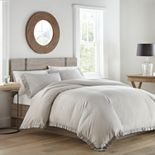 Stone Cottage Asher Grey Comforter Set, Full/Queen