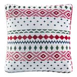 Cuddl Duds Plush 18'' x 18'' Throw Pillow