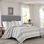 Relax by Tommy Bahama Beachside Stripe Duvet Cover Set, King