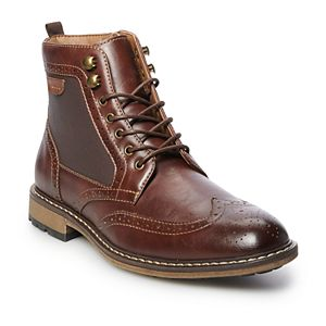 SONOMA Goods for Life® Amos Men's Wingtip Ankle Boots