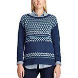 Women's Chaps Dani Fairisle Sweater