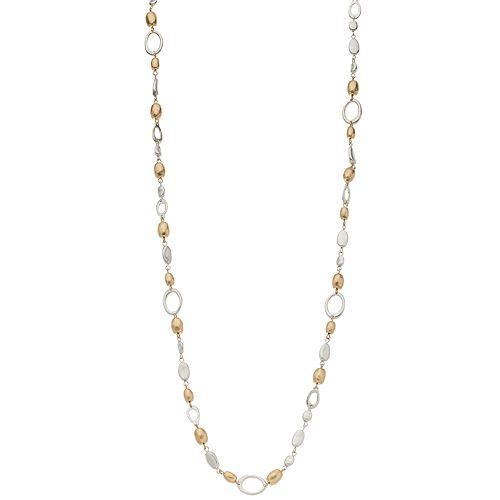 Bella Uno Two-Tone Bead Necklace
