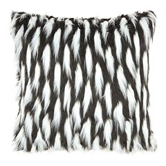 Inspire Me! Home Decor Faux Feathers Throw Pillow
