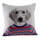 Natco Sweater Dog Decorative Pillow
