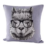 Natco Llama Decorative Pillow