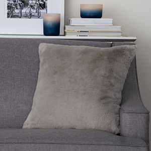 Natco Rabbit Faux Fur Decorative Pillow