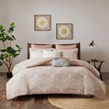 INK + IVY Ellipse Cotton Jacquard Comforter Set