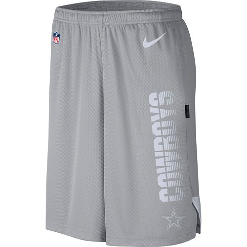 Men's Nike Dallas Cowboys Breathe Knit Shorts