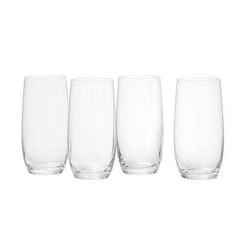 Scott Living 4-pc. Crystal Cooler Glass Set