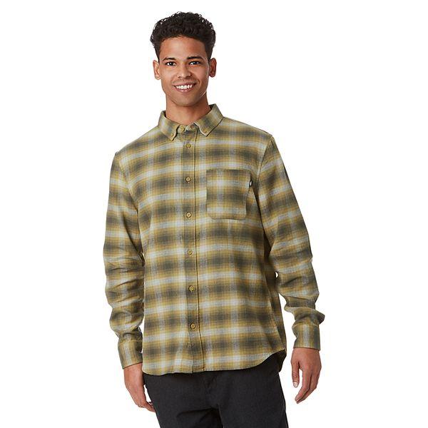 Men's Vans® Plaid Flannel Button-Down Shirt
