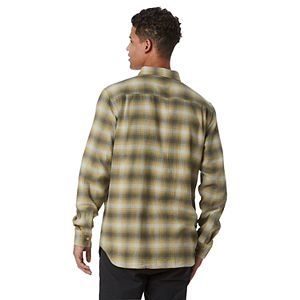Men's Vans Plaid Flannel Button-Down Shirt