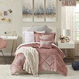 Intelligent Design Isabel Velvet Comforter Set