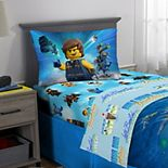 LEGO MOVIE 2 Let's Build Together Reversible Bedding Set