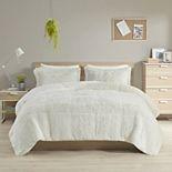 Intelligent Design Leena Shaggy Comforter Set