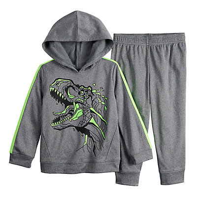 Toddler Boy Jumping Beans® Pullover Hoodie & Pants Set