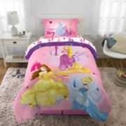 Disney's Princesses Ready To Explore 5-Piece Full Bed Set