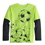 Boys 4-12 Jumping Beans® Soccer Pattern Tee