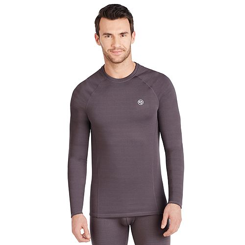 Men's Climatesmart® by Cuddl Duds Heavy Weight X Fleece Performance Base Layer Crew