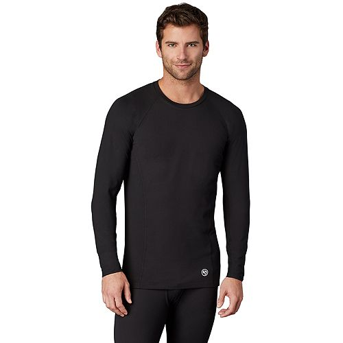 Men's Climatesmart® by Cuddl Duds Medium Weight ClimateSport Performance Base Layer Crew
