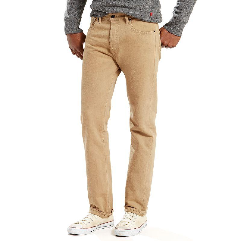 Men's Levi's 501 Original Fit Jeans, Size: 31X30, Grey