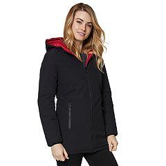 Women's Halitech Hooded Reversible Rain Jacket