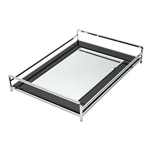 Home Details Vanity Tray with Mirror Finish