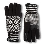 Women's isotoner Knit Snowflake Glove with smartDRI & smarTouch Technologies