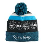 Men's Rick and Morty Cuffed Beanie