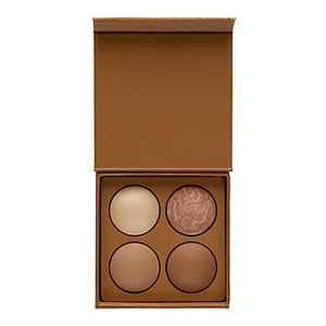 LORAC TANtalizer Hustle and Glow Baked Bronze and Highlight Palette
