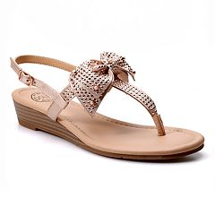 quite nice 7a3a0 f7685 Dolce by Mojo Moxy Women s Wedge Sandals