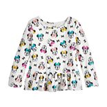 Disney's Minnie Mouse Baby Girl Peplum-Hem Tee by Jumping Beans®