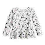Disney's 101 Dalmatians Baby Girl Peplum Hem Top by Jumping Beans®