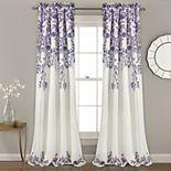 Lush Decor 2-pack Tanisha Room Darkening Window Curtains