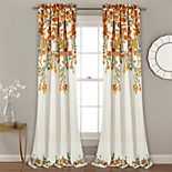 Lush Decor 2-pack Tanisha Room Darkening Window Curtains