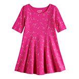 Toddler Girl Jumping Beans® Printed Princess Seam Dress