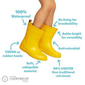 totes Cirrus Charley Kids Waterproof Rain Boots