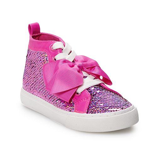 JoJo Siwa Reverse Sequin Girls' High Top Shoes