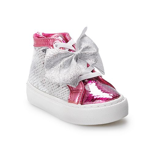 JoJo Siwa Sequin Toddler Girls' High Top Shoes