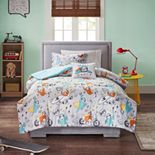 Mi Zone Kids Jacob Sloth Printed Comforter Set
