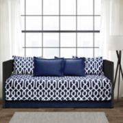 Lush Decor Navy 6-Piece Daybed Cover Set