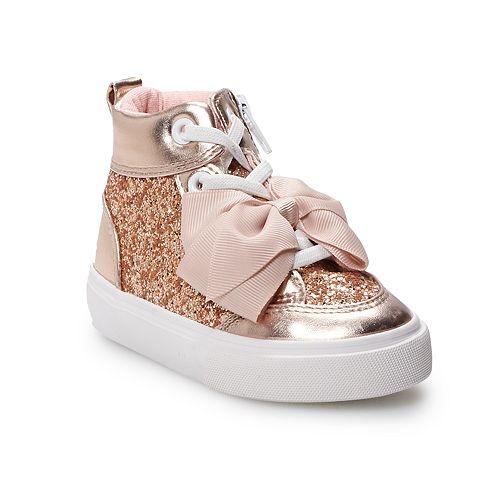 JoJo Siwa Glitter Toddler Girls' High Top Shoes