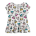 Disney's Minnie Mouse Toddler Girl Peplum-Hem Tee by Jumping Beans®