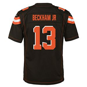 newest 62547 9c265 Boys 8-20 Cleveland Browns Odell Beckham Jr. Replica Jersey