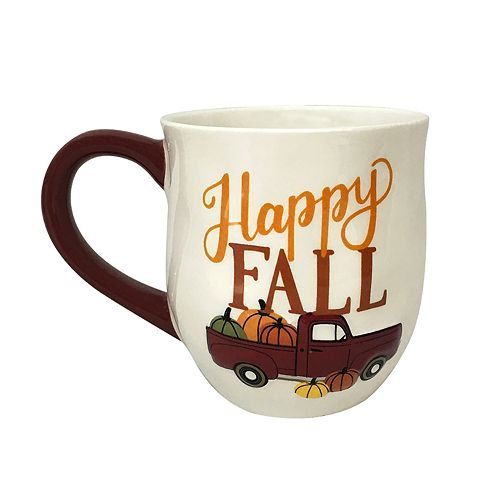 Celebrate Fall Together Happy Fall Mug