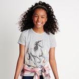 Girls 7-16 Mudd Short Sleeve Sleeve Graphic Tee
